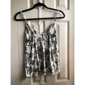 American Eagle Outfitters Tops - Floral tank top